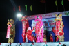Unicorn-Lion-Dragon dance festival in Tet