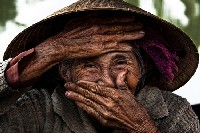 """World's Most Beautiful Old Woman"" lives in Hoian"