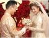 Lương Thế Thành hạnh phúc rước cô dâu Thúy Diễm