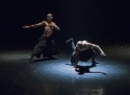 Performance blended contemporary dance with traditional art presented in Hanoi