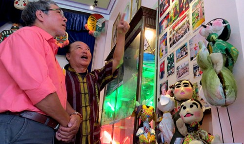 Artist opens Vietnam's first solo puppetry museum